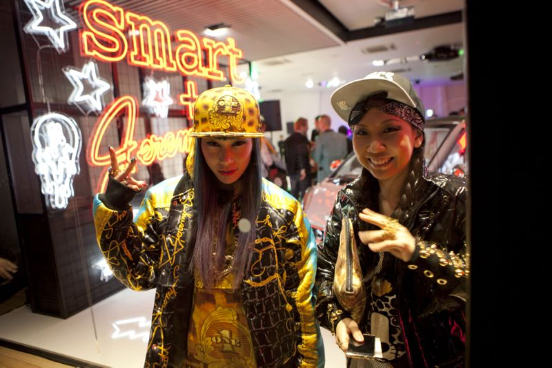 Jeremy Scott Tokyo Smart Car Japan Fashion Week 06 JEREMY SCOTT x SMART CAR TOKYO PARTY