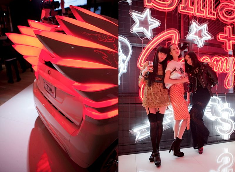 Jeremy Scott Tokyo Smart Car Japan Fashion Week 17 JEREMY SCOTT x SMART CAR TOKYO PARTY