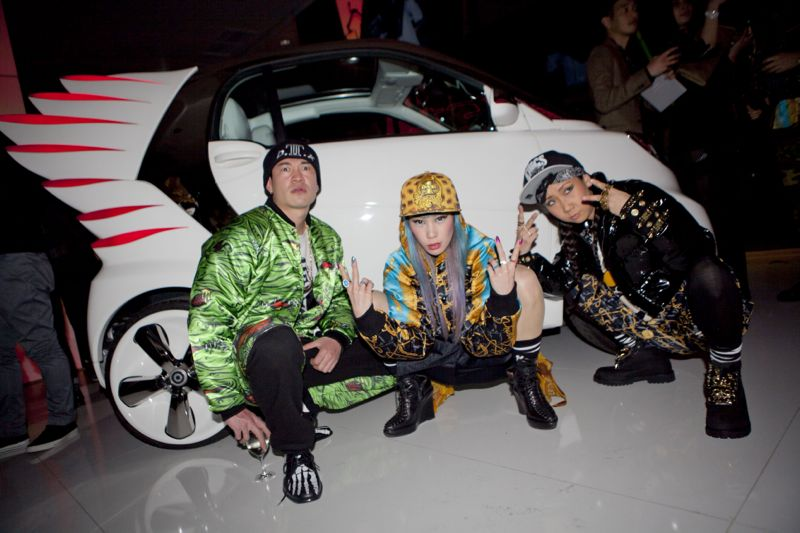 Jeremy Scott Tokyo Smart Car Japan Fashion Week 18 JEREMY SCOTT x SMART CAR TOKYO PARTY