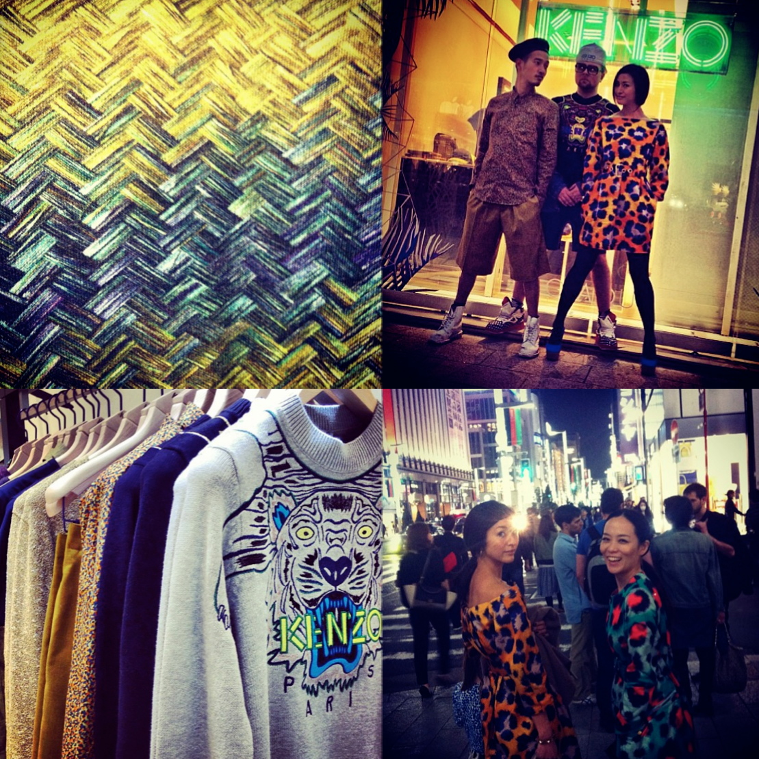KENZO HOMME POP UP SHOP GINZA