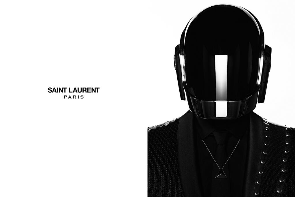daft punk saint laurent hedi