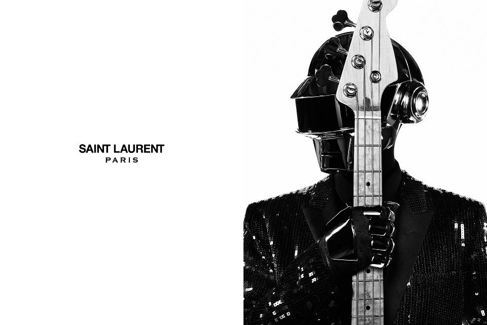 daft punk saint laurent