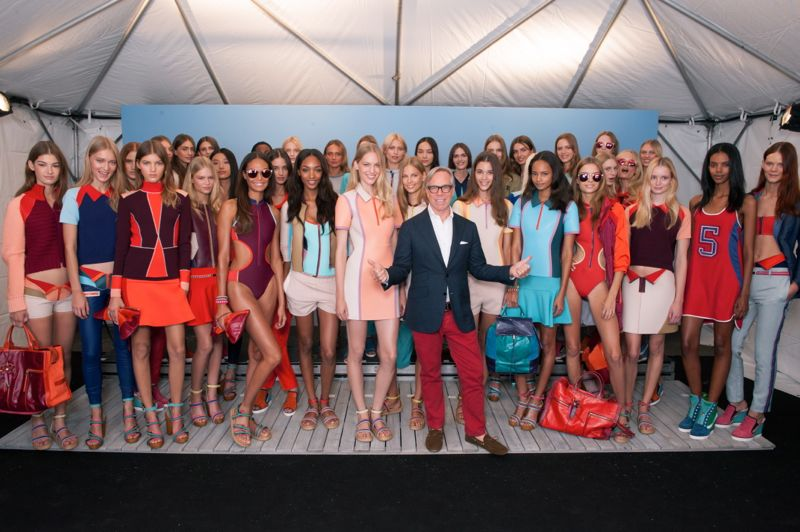 TOMMY HILFIGER SPRING 2014 NEW YORK FASHION WEEK 162 TOMMY HILFIGER SPRING 2014 COLLECTION IN NEW YORK
