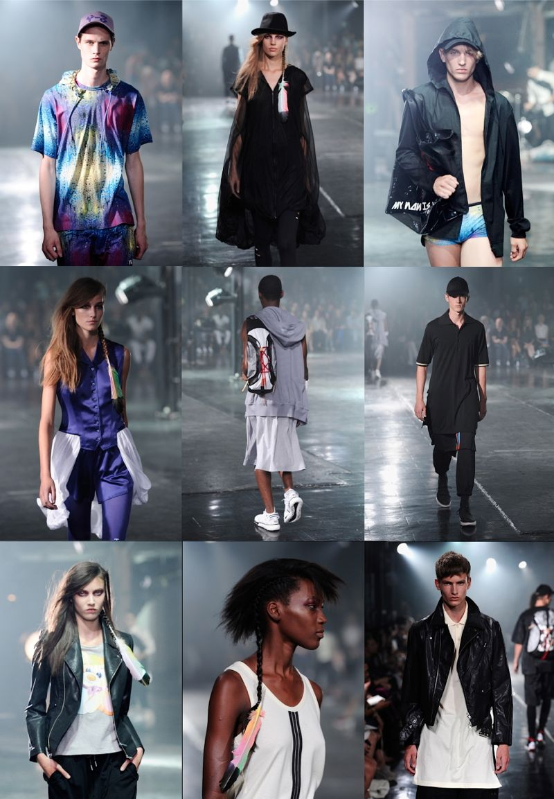 y-3 spring 2014 new york fashion week1