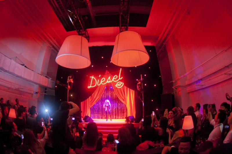 Diesel Party Tokyo Japan Nicola Formichetti Brooke Candy Georgia Jagger Ranzo Rosso 14