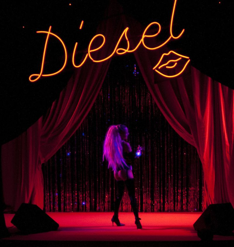 Diesel Party Tokyo Japan Nicola Formichetti Brooke Candy Georgia Jagger Ranzo Rosso 15