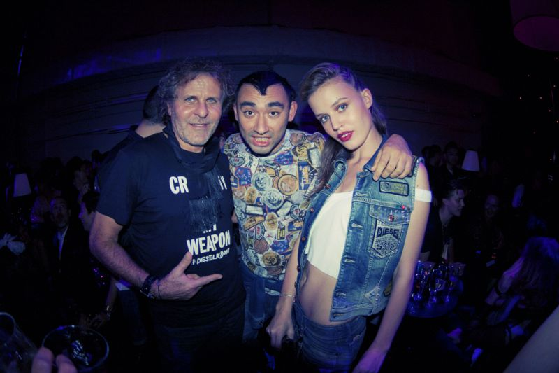 Diesel Party Tokyo Japan Nicola Formichetti Brooke Candy Georgia Jagger Ranzo Rosso 16