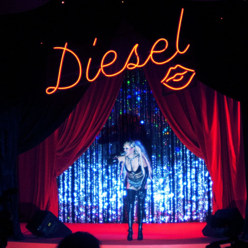 Diesel Party Tokyo Japan Nicola Formichetti Brooke Candy Georgia Jagger Ranzo Rosso 17