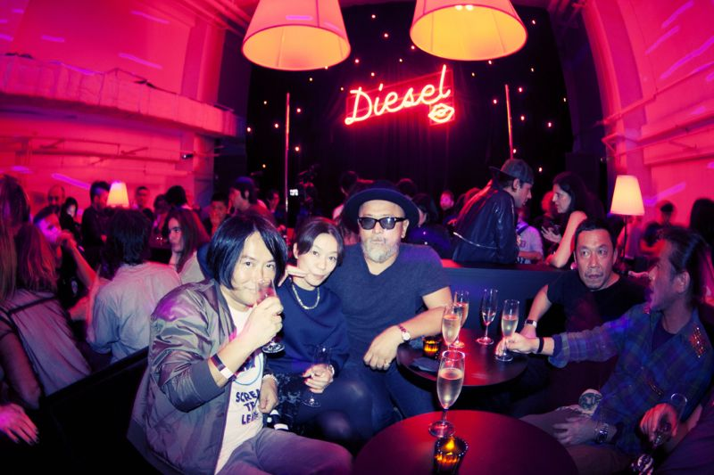 Diesel Party Tokyo Japan Nicola Formichetti Brooke Candy Georgia Jagger Ranzo Rosso 18