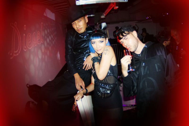Diesel Party Tokyo Japan Nicola Formichetti Brooke Candy Georgia Jagger Ranzo Rosso 23