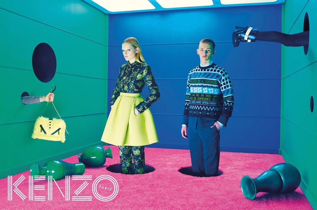KENZO FALL/WINTER 2014 COLLECTION POP-UP SHOP IN ISETAN SHINJUKU