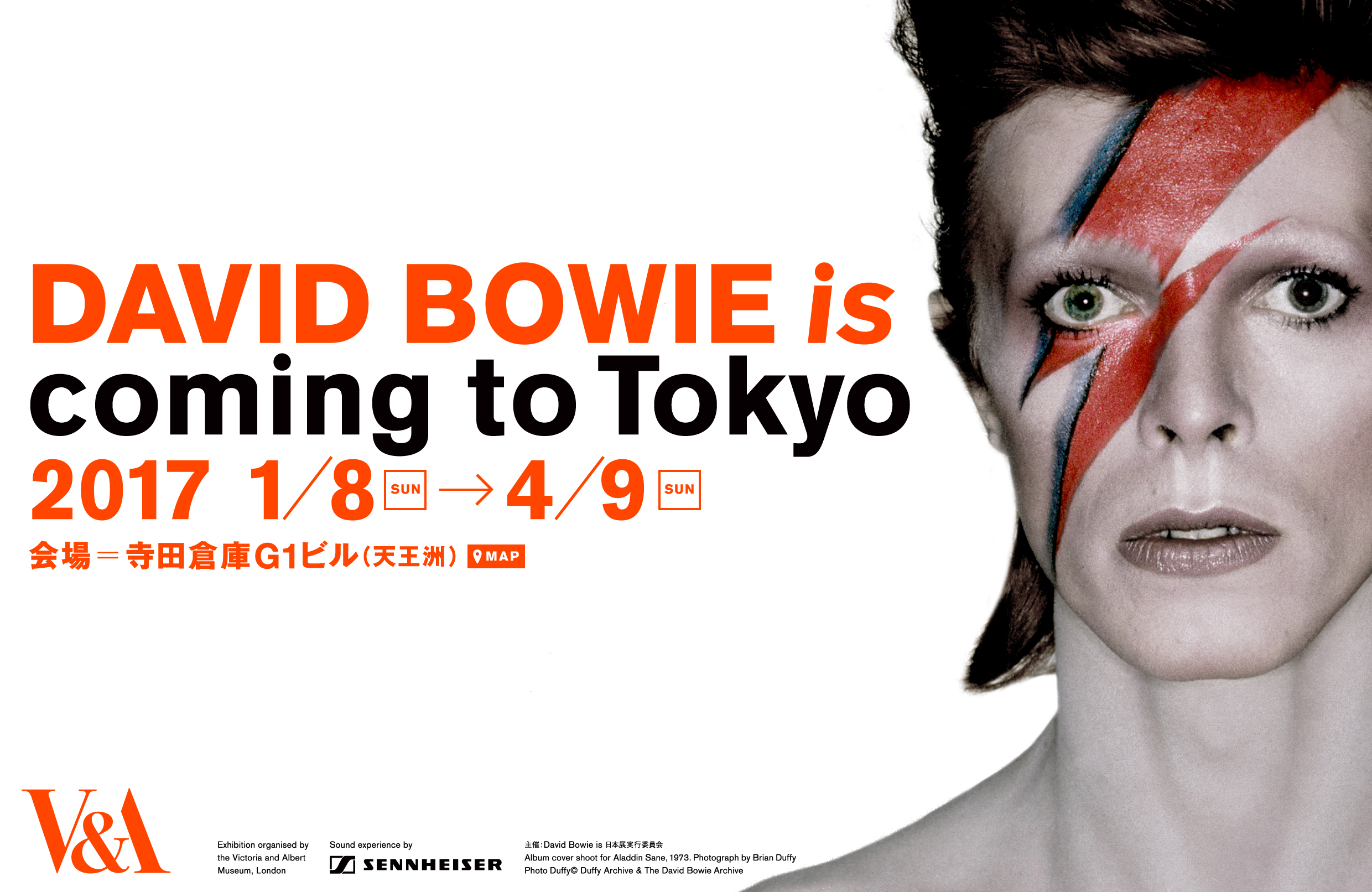 """""""DAVID BOWIE is"""" coming to Tokyo"""