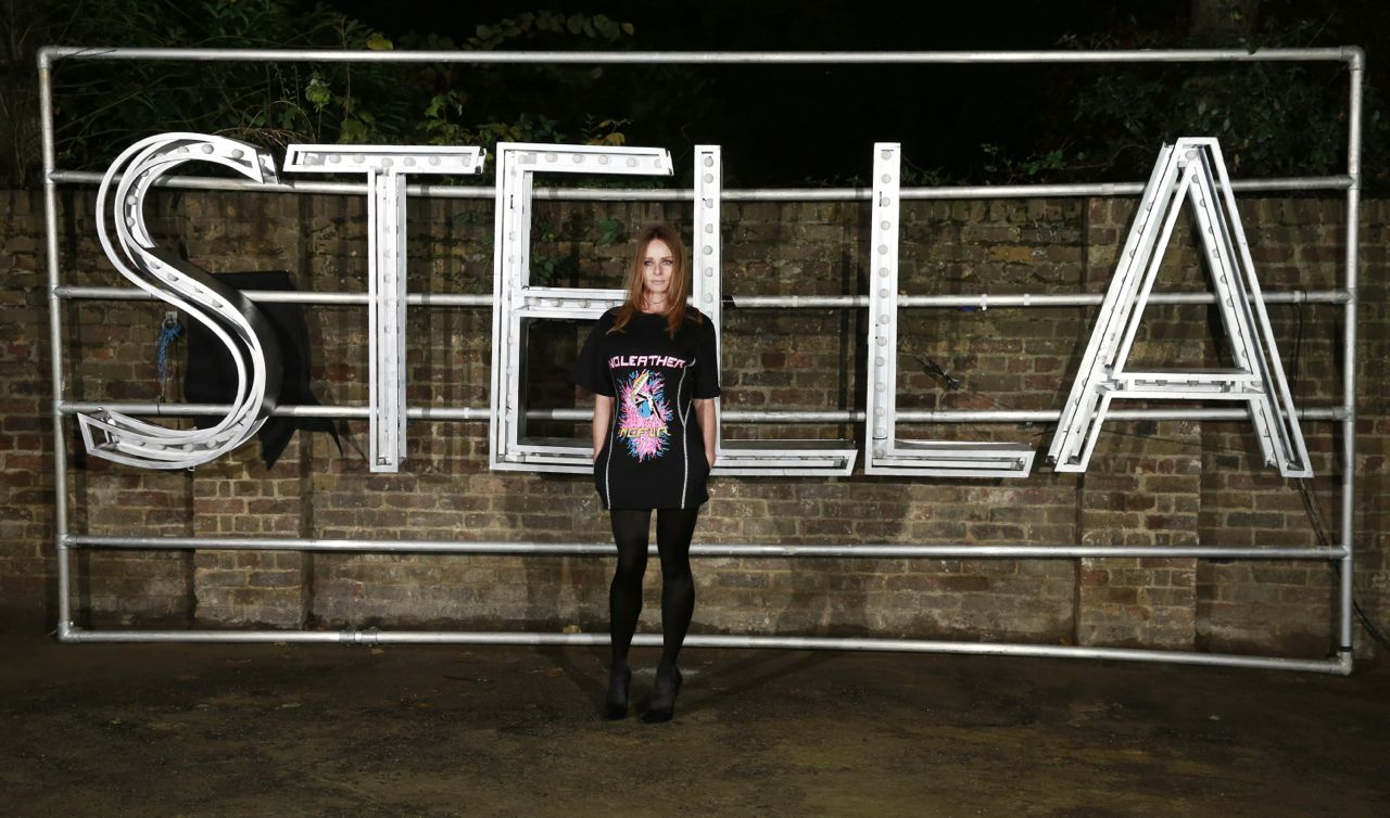 LONDON, ENGLAND - NOVEMBER 10:  Stella McCartney attends the Stella McCartney Menswear launch and Women's Spring 2017 collection presentation at Abbey Road Studios on November 10, 2016 in London, England.   Pic Credit: Dave Benett
