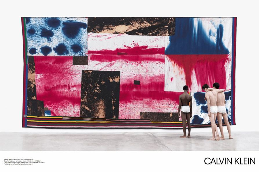 Calvin Klein's campaign by Raf Simons 1