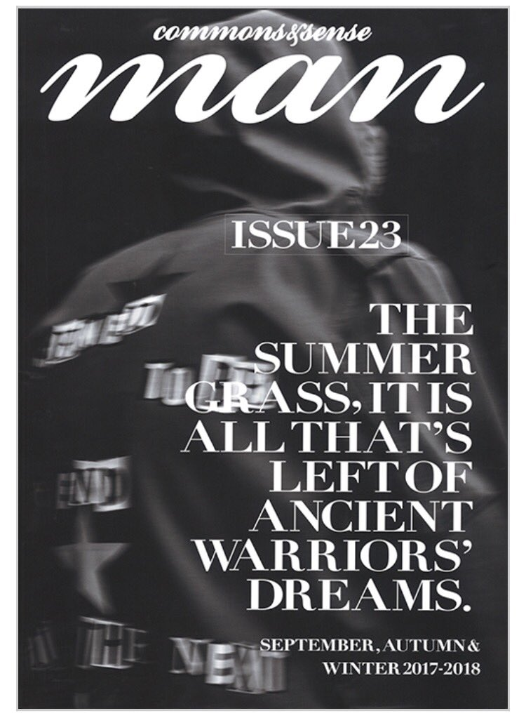 commons&sense MAN Issue 23