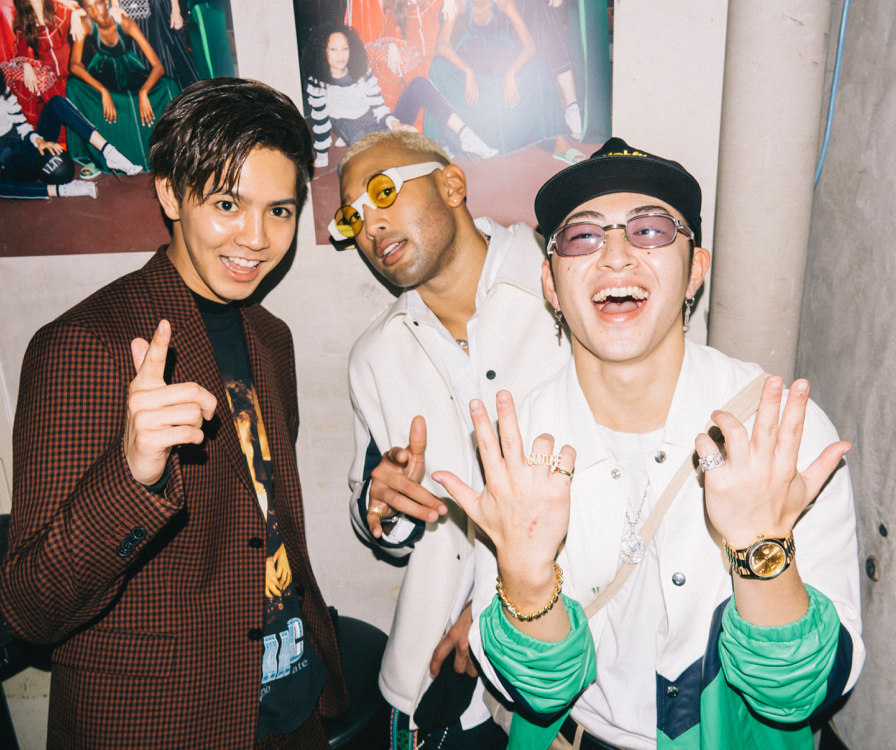 Ryota, Mandi & Reo (GENERATIONS from EXILE TRIBE)
