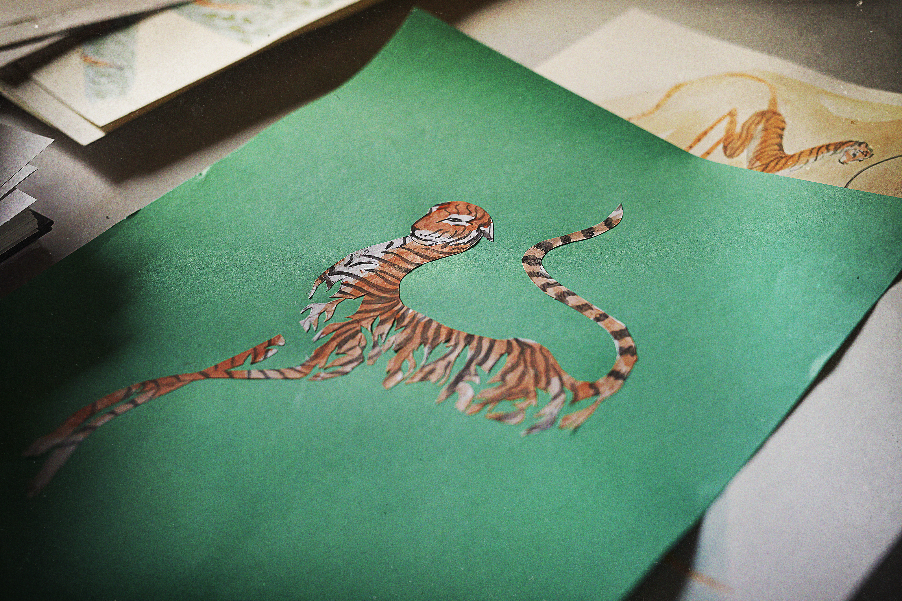 Meryl Smith's Nameless design was inspired by a wild tiger that was discovered injured by snares in Malaysia